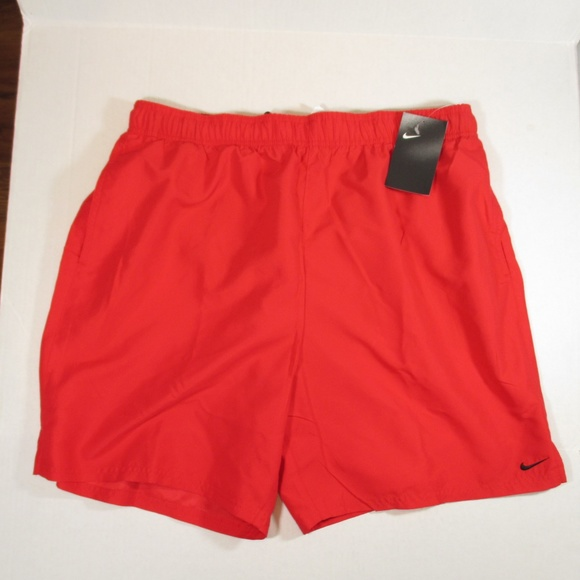 186dc4666d Nike Swim | Size Xl Mens Trunks Shorts Red | Poshmark